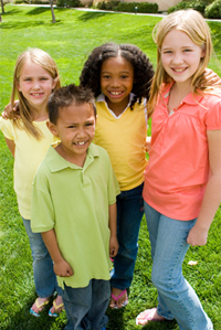 group-of-young-children-sta